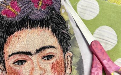 Malen und Zeichnen mit deiner Nähmaschine?